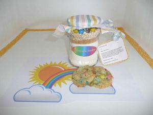 Regenbogen-Cookies