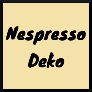 Nespresso Deko
